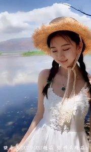 彩云之南,湖天一色