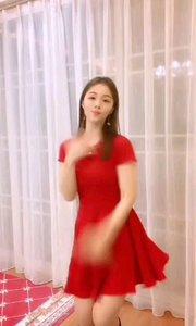#性感不腻的热舞 #我怎么这么好看  @玲达小姐姐 性感热情的红裙子,奔放的舞蹈让人心旷神怡