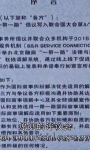 """《王丽:""""一带一路""""服务机制为丝路建设贡献专业力量》(6)"""