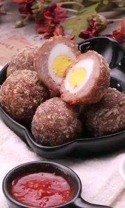 炸鹌鹑蛋肉丸子