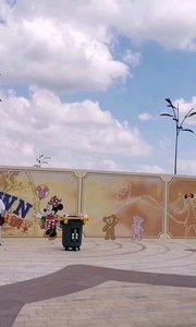 骑行至#十一出游随手拍 迪士尼乐园