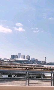 #十一月你好 天蓝蓝,水潺潺,黄浦江边好风光,骑行快乐又健康!
