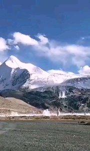 #十一月打卡挑战 神奇美丽的萨普神山!不忍把眼睛闭上!感谢小眼睛胖子的骑行之旅!