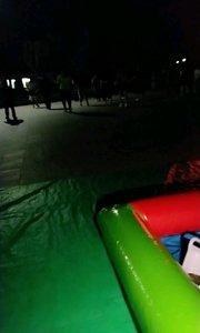 #又嗨又野在玩乐 广场上面玩,看跳舞,
