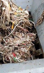 辫子料粉碎时产7-8吨,粉碎机,撕碎机,破碎机我们是专业的