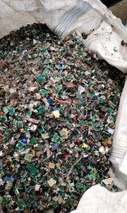 一次粉碎,一次成型,连续碳化,提取金属