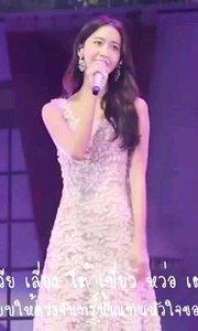 中文十级翻唱:林允儿《月亮代表我的心》副歌#好声音