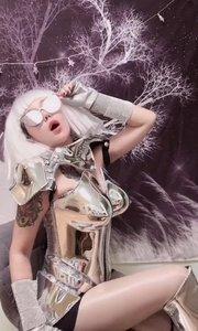 致敬我的偶像lady gaga.模仿一下#明星模仿秀