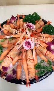 顶级刺身篇:三文鱼、牡丹虾、玫瑰虾.北极贝、、斯干比,只有你想不到
