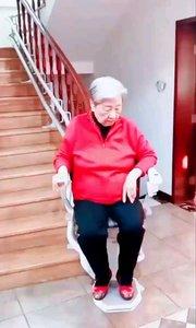 老人上年纪腿脚儿不利索 楼梯上安装这个 也算尽一份儿孝心