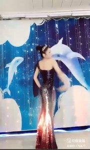 #爱跳舞的我最美 #火爆猴 @✨火爆猴? 三周年庆舞蹈表演-古风舞-大鱼1