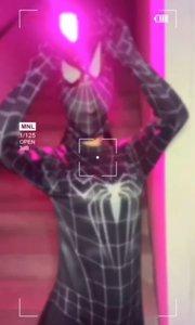 #3秒视频挑战赛 蜘蛛侠?️