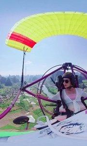 滑翔伞……点赞啦老铁们