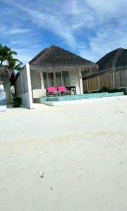 马尔代夫的沙滩房?