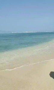 今天来三亚西岛玩一天