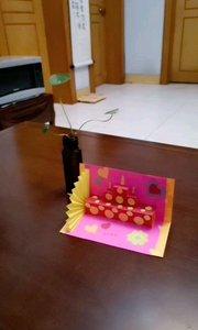 ?我的折纸作品 #生日蛋糕?
