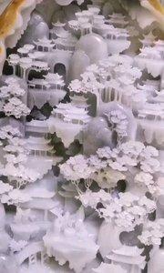 意境山水?优质和田 #玉器玉石玉雕
