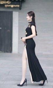 #火辣身材#前凸后翘#大长腿#旗袍穿搭#秀身材