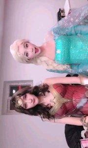 冰雪女王和神奇女侠?