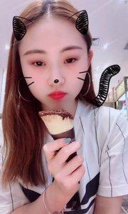 七夕快乐❤️有遗憾有失落的比赛之后 还好有巧克力冰淇淋的安慰??