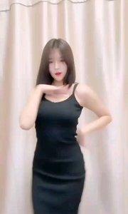 #性感不腻的热舞 #爱跳舞的我最美  @? 西嘻 性感黑色紧身裙,深深沉醉在这热情的舞蹈中