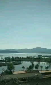单车带你去旅行 云南红河哈尼彝族自治州  石屏县 异龙湖 坐标:来鹤亭#带着花椒去旅行