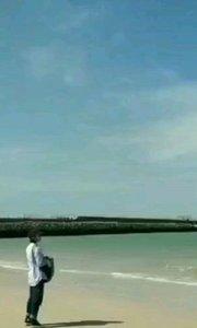 涠洲岛野时莫迟客栈欢迎你 涠洲岛蓝桥 蓝天 蓝海 欢迎你#主播的高光时刻