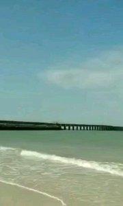 北海涠洲岛野时莫迟 涠洲岛蓝桥来听海#主播的高光时刻 #主播的高光时刻