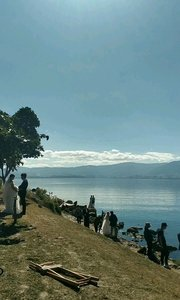 大理洱海一群新娘子#十一月打卡挑战