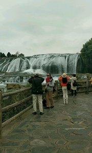 西游记拍摄第 黄果树瀑布之陡坡塘瀑布#又嗨又野在玩乐