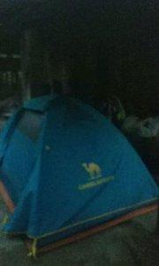 #十二月打卡赛 今天营地 广西北海合浦县 去年也是碰到一个骑单车后面挂拖车的骑友一起在这里扎营#又嗨又野在玩乐