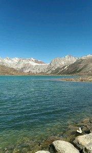 川藏线姊妹湖近景漂亮呦#又嗨又野在玩乐