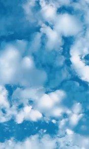 期待有个人和我一起看日出蓝天白云