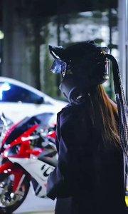 今天路人问我摩托车卖吗,我说你把我买了车送给你!#女骑