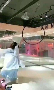 #ANN舞国际 唯美高空吊环