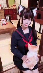 声控颜控来了!wuli@猫九酱sakura录了一段甜甜的视频,请查收8月31日20点,猫九在花椒的首播一定要来支
