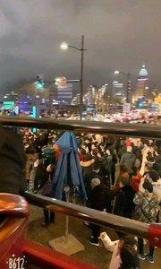 新年的上海外滩