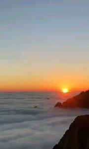 黄山云海日出