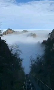 今天的黄山依旧很美