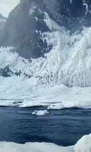 冰岛塞里雅兰瀑布虹景