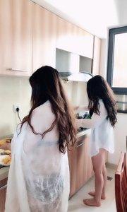 出得了海,入得了厨房的?美女,这样的?#20849;?#20320;能吃几碗??