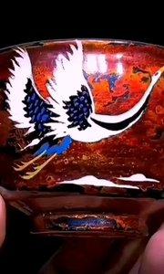 """大漆与瓷的结合就是最佳的""""软硬调和"""""""